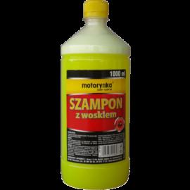 szampon z woskiem motorynka