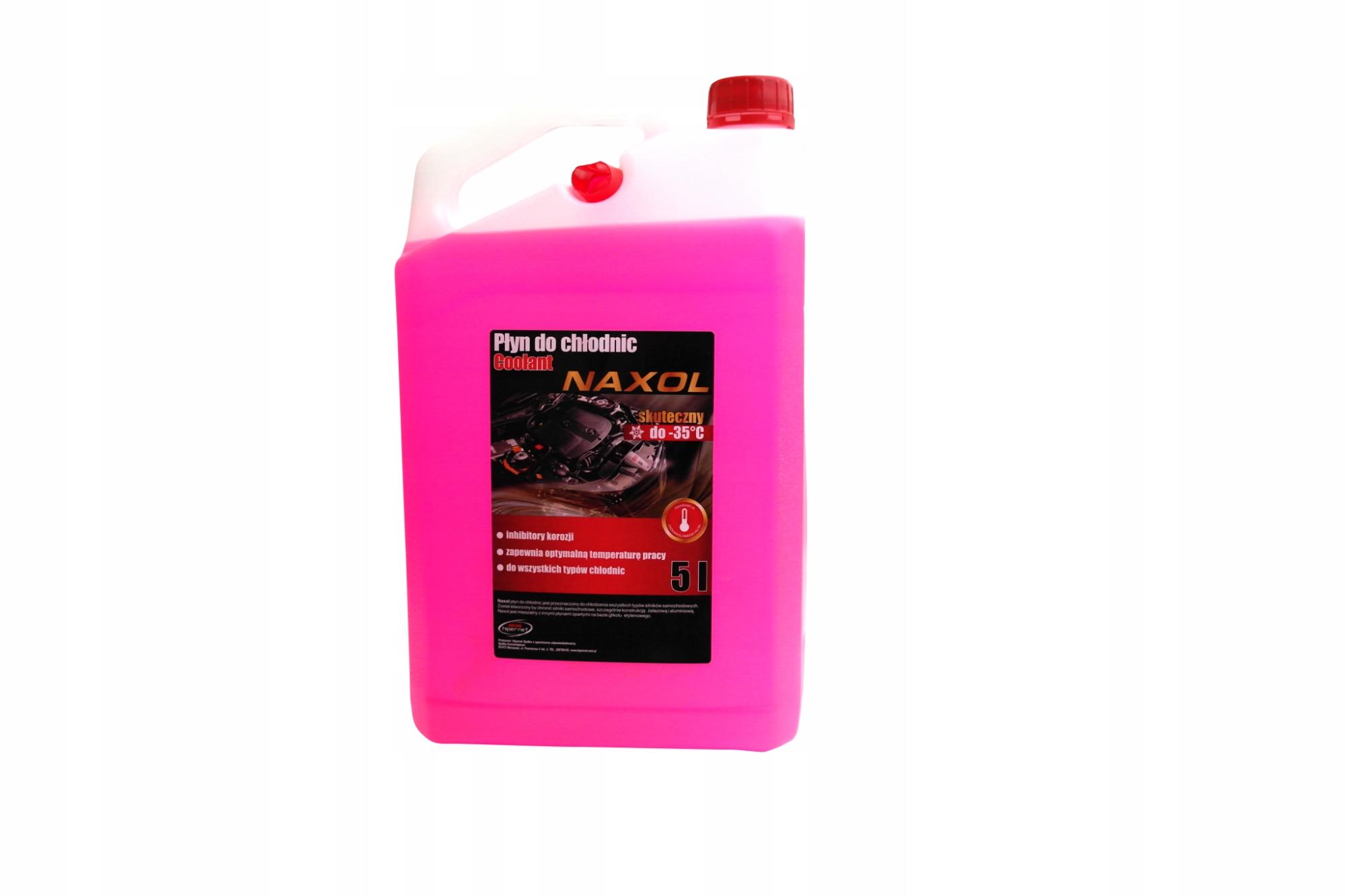 płyn do chłodnic różowy naxol