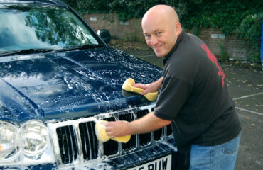 mycie samochodu, aktywna piana